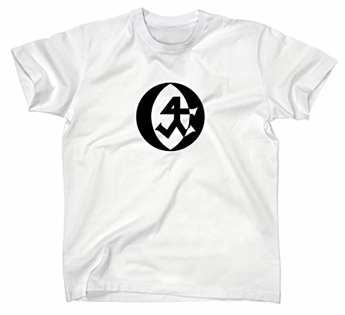Steinmetz Handwerk Zunft Logo T-Shirt, L, Weiss