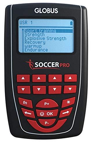 Globus G4228 - Electroestimulador Soccer Pro, Unisex, Adulto, Negro, único