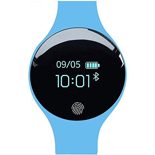 Smart Watch Pantalla táctil IP65 Impermeable, con Notificación SMS Meter Step, Monitoreo de SUEÑO Identificador de Llamadas, para Fitness, Colocación Diaria