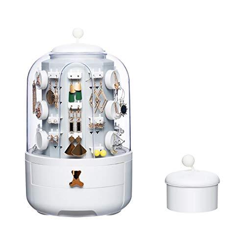 Home Jewelry - Caja de almacenamiento para joyas (38 x 26 x 26 cm)