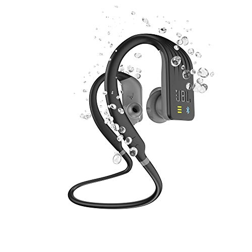 JBL Endurance Dive - Auriculares Inalámbricos Deportivos In Ear con MP3 integrado (1GB), Resistente al agua, Activación inmediata on y off según se insertan o no al oído, Color Negro