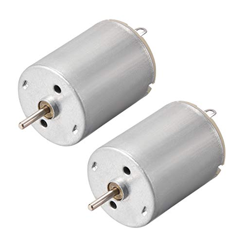 uxcell DC Motor 5.5V 35000RPM 0.7A Electric Motor Round Shaft for RC Boat Toys Model DIY Hobby 2Pcs