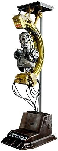 Hot Toys - Terminator Salvation diorama 1 6 Terminator Factory T-700 38 cm