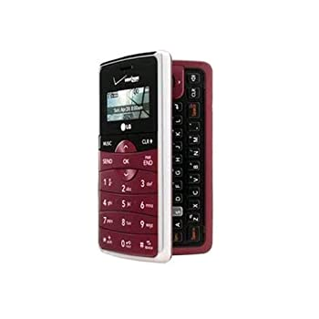 Verizon LG enV2 VX9100 Replica Dummy Phone / Toy Phone  Maroon