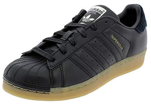 adidas Damen Superstar W Fitnessschuhe, Schwarz, 39 1/3 EU