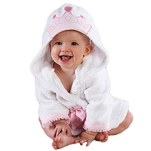 LYX Toalla para Bebé con Capucha, 100% Algodón Antibacterial Y Hipoalergénica Toalla para Bebé para Bebés Y Niños Pequeños,120Cm