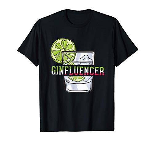 Am Ende ergibt alles einen Gin |Ginfluencer Geschenk T-Shirt