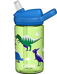 2. CamelBak Eddy+ Kids Water Bottle with Straw, 14oz