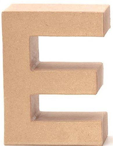 Papp-Buchstabe E 17,5x5,5cm