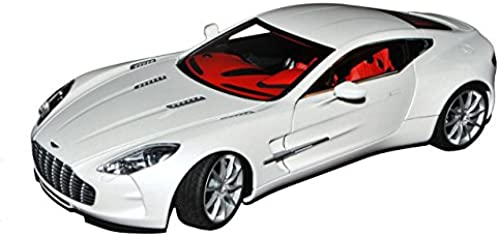AUTOart Aston Martin One-77 Coupe Morning Frost Weißs 2009-2012 70244 1 18 Modell Auto