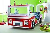 Demeyere 3224 Feuerwehrbett SOS 112, MDF, 90 x 190-200 cm, rot / wei