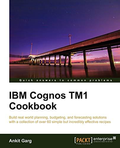IBM Cognos TM1 Cookbook (English Edition)