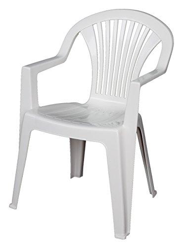 Areta AR003 - Sillón Lido, blanco, 1 pieza