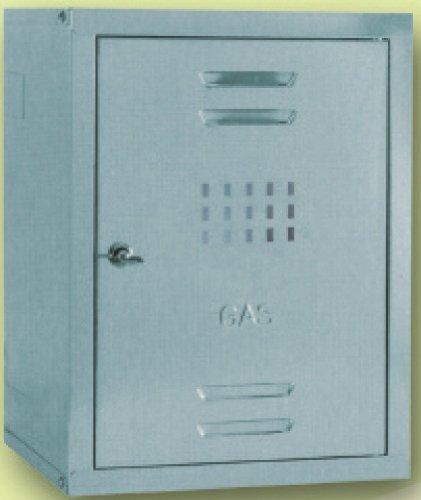 SecureBay Cassetta Copricontatore Gas Zincata 50 H x 50 L x 25 P