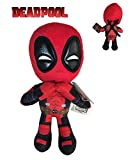 Marvel - Peluche Deadpool Postura Manos Corazon 32cm Calidad Super Soft