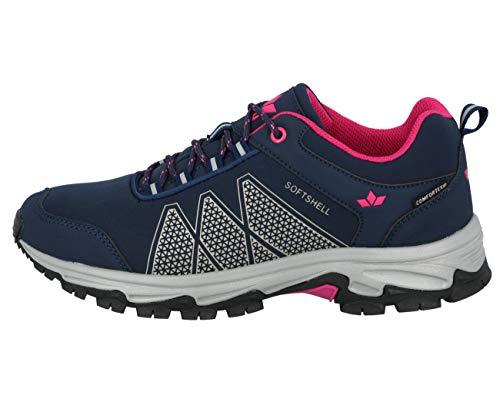 Lico Outdoor- & Trekkingschuh Damen Outdoor- & Trekkingschuh, Marine/ Grau/ Pink, 39 EU