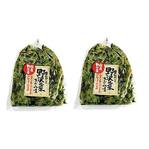 まるたか 野沢菜きざみ漬け 150g×2個セット 国産野沢菜使用