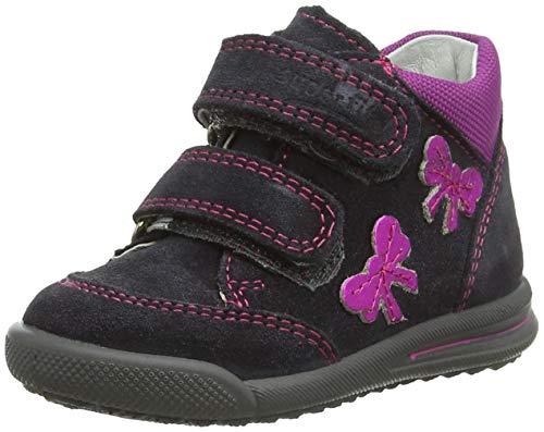 Superfit Baby Mädchen Avrile Mini Sneaker, Grau (Grau 20), 19 EU