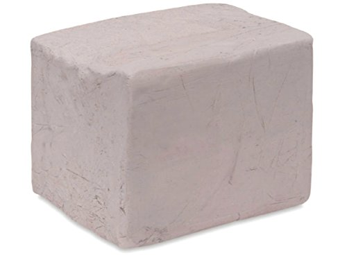 Aurora Pottery - Whiteware Clay (Lo-Fire) - EM-342 - Pottery Clay Fires White - Smooth Texture (25 Pounds)