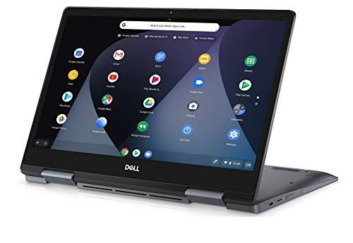 Dell Chromebook 14 7000 14.0 Inch 2-in-1 FHD LED-Backlit IPS Touch 2019 Laptop - (Grey) Intel Core i3-8130U, 4 GB RAM, 128 GB eMMC, USB Type-C, Chrome OS