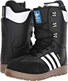 adidas Samba Adv Snowboard Boots Black/White/White Mens Sz 11