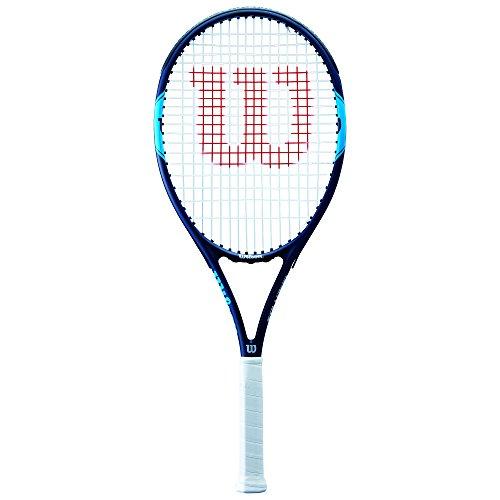 Wilson Monfils Open 103, Racchetta da Tennis per Giocatori di Transizione da Principiante a Intermedio Unisex – Adulto, Blu/Navy, 3