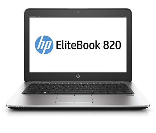 HP EliteBook 820 G3 12.5' Laptop - Core i7 2.5GHz CPU, 8GB RAM, 256GB SSD, Windows 10 Pro (Renewed)
