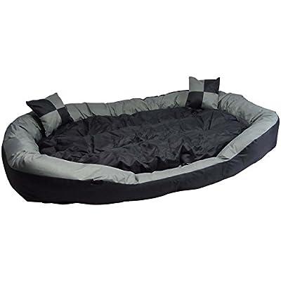 Big Animales sofá-También Cachorro Perros cama XXL-Un Cómodo, lavable perro cesta Big Animales sofá-Tamaño M 85x 70x 20cm