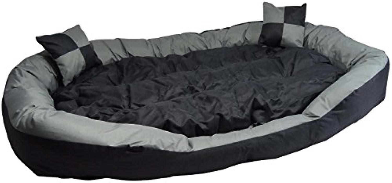Big Tier Sofa - auch Welpenbett Hundebett M - kuscheliges, waschbarer Hundekorb Big Tier Sofa - Gre M 85x70x20cm