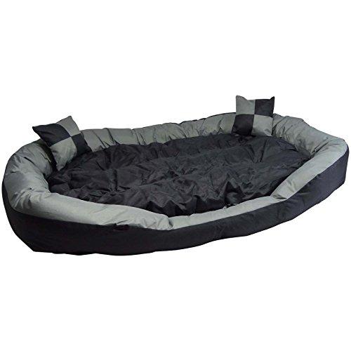 Hossi's Wholesale Sofá para Mascota Grande,Cama XXL para Cachorros y Perros,Cesta Acolchada cómoda y Lavable para Perrosde tamaño L, 110x 80x 20cm