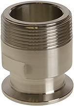 NPT Adapter | Tri Clamp 1.5 inch x MNPT 1.5 in - Glacier Tanks - (3 Pack)