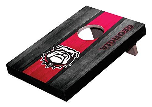 Wild Sports NCAA College Georgia Bulldogs Mini Cornhole Game