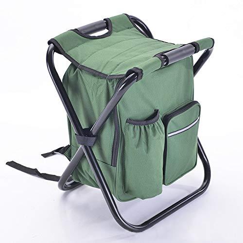 Bureze LDAJMW Chaise de pêche pliante Sac de rangement de voyage Sac isotherme Multifonction Randonnée Camping Plage Loisirs Ice Bag Chaise