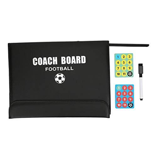 Qqmora Tablero de enseñanza Tablero de táctica Claro intuitivo Tablero de Baloncesto Duradero para Entrenadores Robusto para Entrenamiento de fútbol