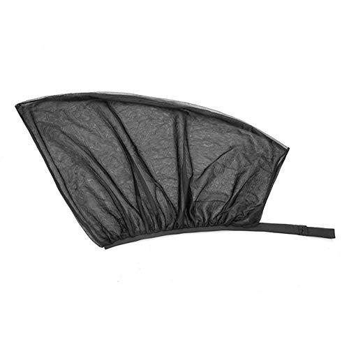 SHKY 4pcs Auto-Sonnenschutzlamellen - Premium-Qualität - Doppelpackung, die das gesamte hintere Seitenfenster abdeckt und maximalen UV-Schutz bietet - Vorder- und Rückseite