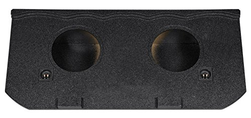 EXT Dual 12' Sealed Subwoofer Box For 2002-13 Chevy Avalanche, Cadillac Escalade