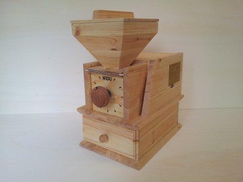 Getreidemühle WIDU Volksmühle Mod. II aus Holz