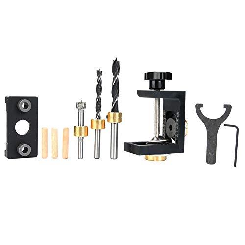 Bohrerführungswerkzeug, 3-in-1-Dübellochbohrwerkzeug für die Holzbearbeitung(Typ B)