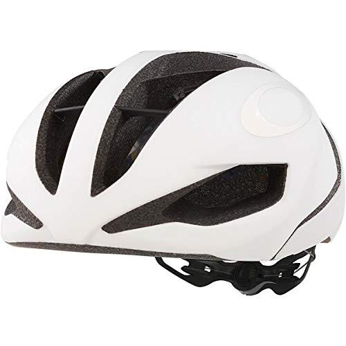 Oakley ARO 5 - Casco para bicicleta de carretera, color blanco mate, tamaño L (56 - 60 cm)