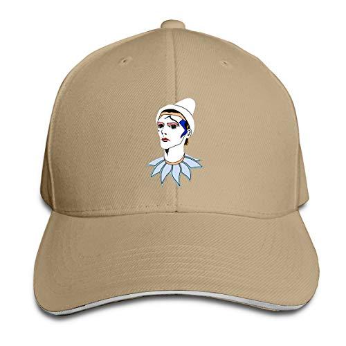 Gen-Z Bowie Pierrood Baseball Cap voor Unisex Classic Dad Hat Polyester Casquette