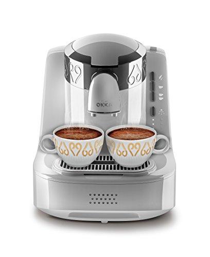 Arzum Okka OK002W 120V Turkish/Greek Coffee Machine, White/Chrome...