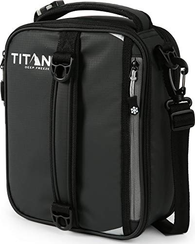 Arctic Zone Titan High Performance Insulated Expandable Lunch Pack, 8 in x 4 in x 10.25 in
