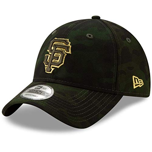 New Era San Francisco Giants 2019 MLB Armed Forces Day 9TWENTY Adjustable Hat - Camo