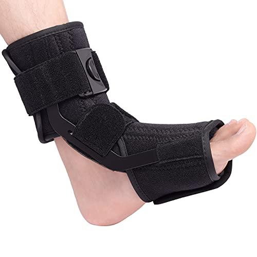 Férula nocturna para fascitis plantar, soporte de pie para mujeres y hombres que se adapta al pie izquierdo o derecho, soporte para tendinitis de Aquiles, fractura por estrés, pie caído,M