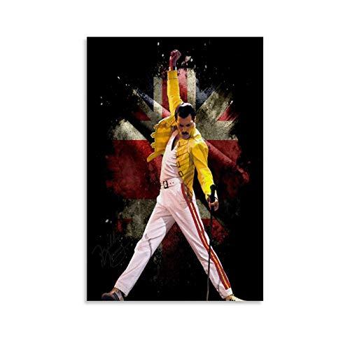 Poster Freddie Mercury Marca CHAOZHE
