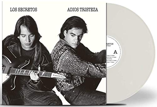 Los Secretos - Adios Tristeza (Lp Blanco + Cd) Exclusivo Amazon [Vinilo]