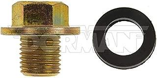 Dorman 090-038CD Oil Drain Plug Standard M12-1.25, Head Size 14mm for Select Models