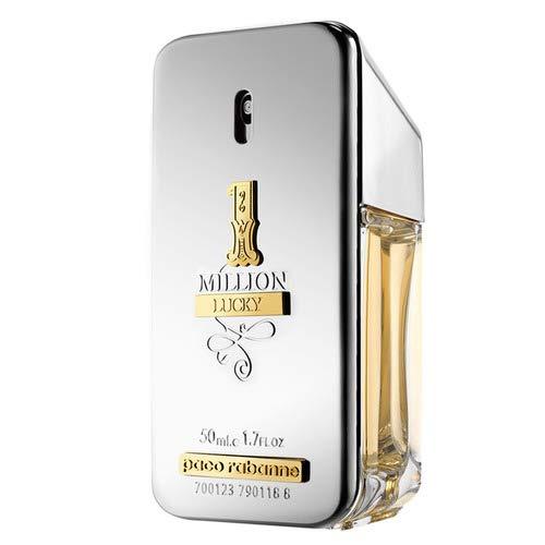 1 Million Lucky Paco Rabanne - Perfume Masculino - Eau De Toilette 50ml