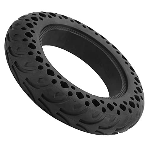 SALALIS Neumático para Scooter, Rueda sólida Antideslizante Buena Goma amortiguadora con Textura Diseño para Scooters eléctricos con un Modelo de neumático de 10x2.0in