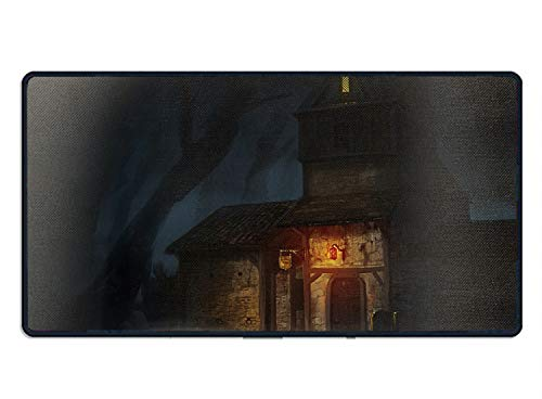 Funny Dark Building Rectangle Non-Slip Rubber Mousepad Mouse Pads/Mouse Mats Case Cover